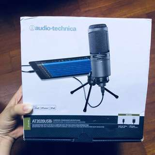 Audio-Technica AT2020USBi Cardioid Condenser USB Microphone Mic