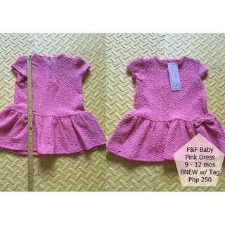 F&F Pink Dress - BNEW w/ Tag