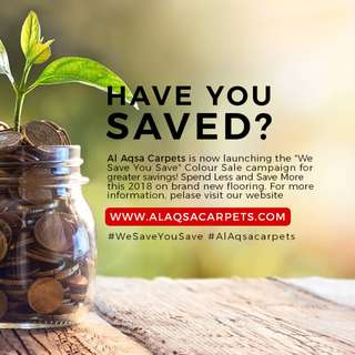 Save More with our We save you save Sale
