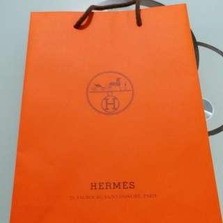 名牌紙袋,Hermes Chanel Mont Blanc Cartier