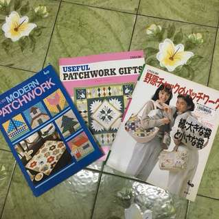 Nice patchwork books