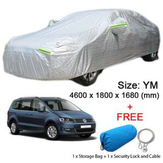 YM Size FULL Car Cover Outdoor Sun Protection Dust Rain Protect for SUV Car