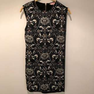 Ted Baker Jewel Print Dress (Size 1)