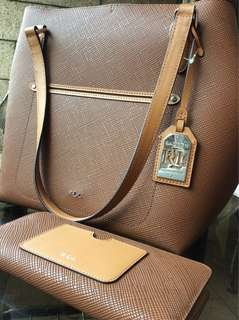 Ralph Lauren Bag with matching wallet