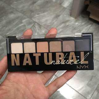 NYX Natural Eyeshadow Palette