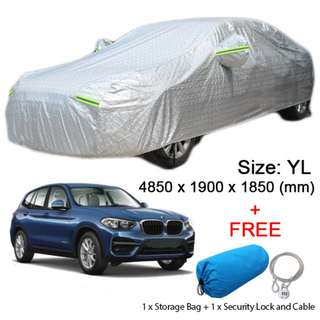 YL Size FULL Car Cover Outdoor Sun Dust Rain Protection for SUV Car