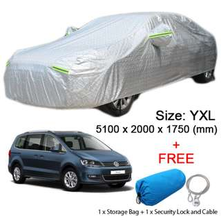 YXL Size FULL Car Cover Outdoor UV Sun Dust Protection for SUV Car