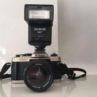 Vintage Nikon SLR Camera
