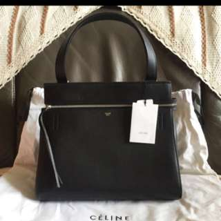 Celine edge black handbag 黑色 classic 手袋