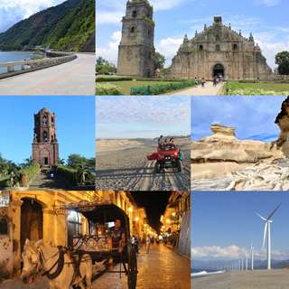 ILOCOS, VIGAN, LAOAG & PAGUDPUD w/ Sidetrip to Grape Farm