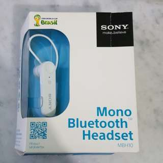 SONY Mono Bluetooth Headset
