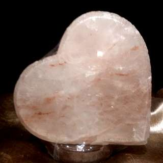 Heart Himalayan Salt Lamp