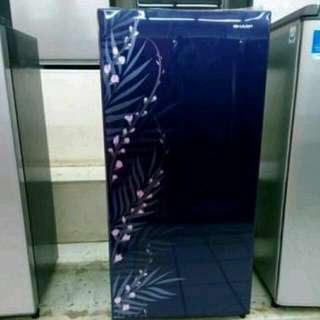 Sharp kulkas 1 pintu bisa cicilan tanpa DP