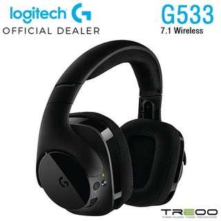 Logitech G533 7.1 Wireless Gaming Headset