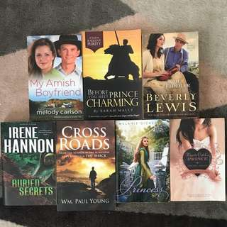 Collection of books (young adult/teen Christian books)