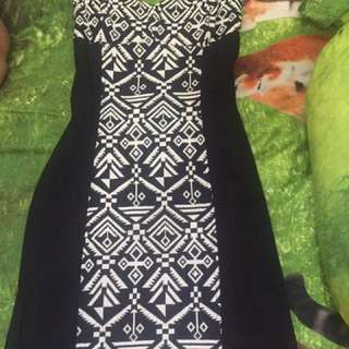 Tribal dress h&m