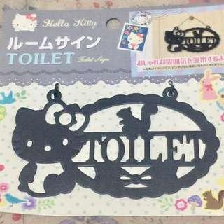Hello Kitty Door Plate