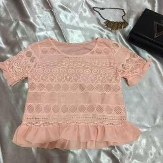Pink pastel Blouse