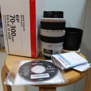 Canon70-300 f4-5.6L is usm