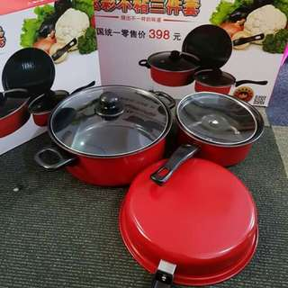 NON STICKY PAN/ BBQ GRILL