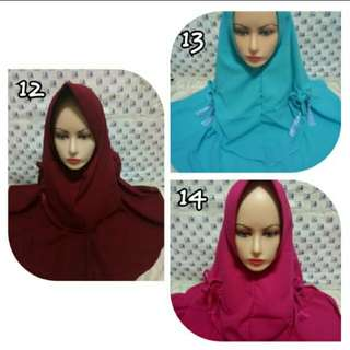 Hijab jilbab instan tajmahal