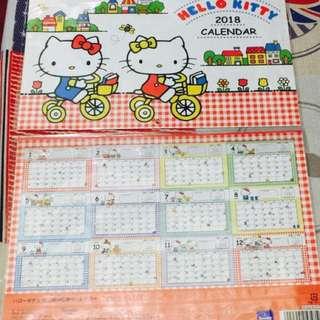 Hello Kitty Wall Calendar