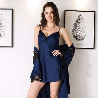 Robe comfy and sexy nightwear