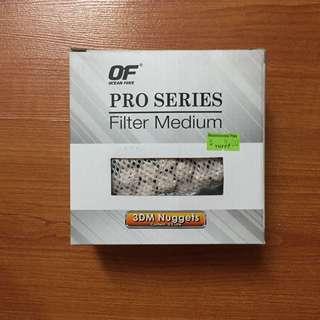 Ocean free pro series filter medium