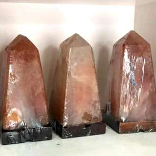 Obelisk Himalayan Salt Lamp
