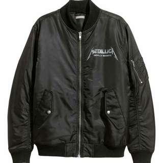 Metallica | H&M Bomber Jacket | M