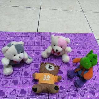 #20 Soft Toys /small teddy bears