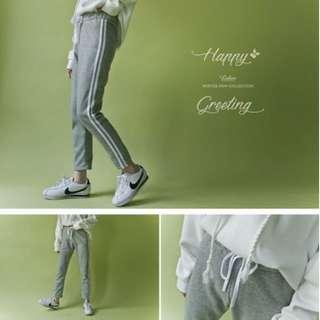 Lulus灰色棉褲