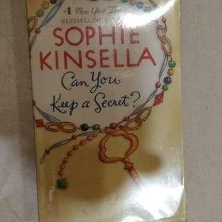 English Novel-Sophie Kinsella-Can you keep a secret