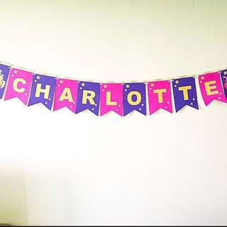 My little pony handmade customised Wall banner