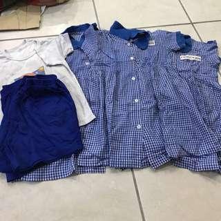 For blessing : Preloved Girl Uniform - Faith Educare
