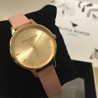 Olivia Burton London 女裝腕錶 Dusty Pink & Gold