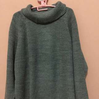 Sweater Turtle Neck Grey