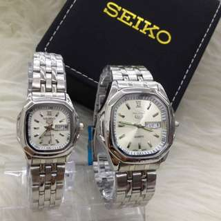 SEIKO COUPLE STEEL LIMITED EDITION WATCH