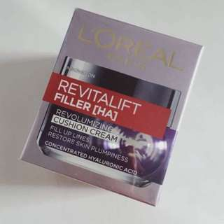 BNIB Loreal Dermo Expertise Revitalift Filler Cushion Cream 50ml