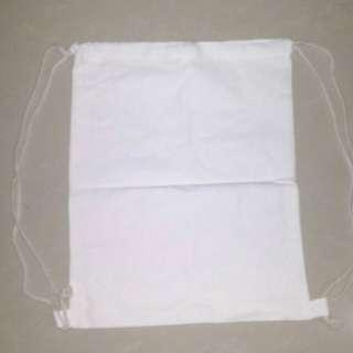 KS Canvas String Bag (w/o design)