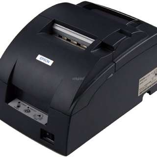Uses Epson U220B Dot Matrix Printer