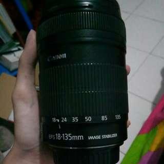 Lensa EFS 18-135mm