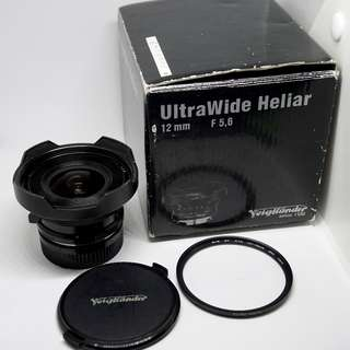 Voigtlander 12mm f5.6 Leica M mount