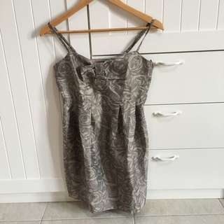 H&M Dress Grey
