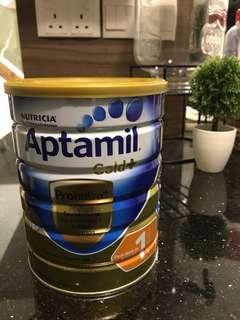 Aptamil Gold PLUS (900g) birth to 6 months direct from Australia