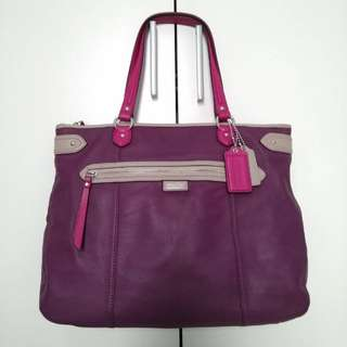 Coach Daisy Spectator Leather Emma Tote Bag