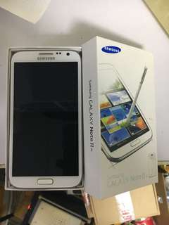 Samsung galaxy note 2 brand new and original 100%