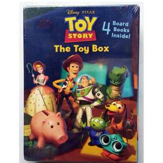 Disney Toy Story The Toy Box - 4 Board Books Per Set