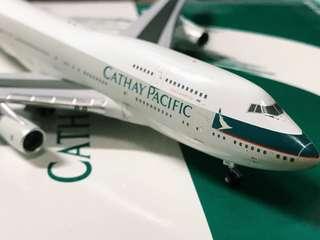 Cathay Pacific 747 B-HUG Jumbo Boeing 1:400