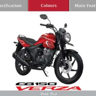 Honda cb verza 150 cw